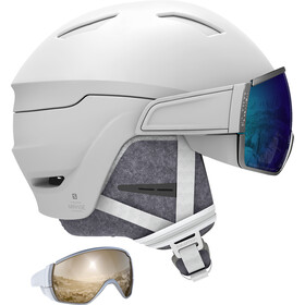 Salomon Mirage Ski Helmet Women white/blue solar